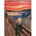 Edvard Munch-The Scream.Stampa Originale ad Altissima Risoluzione del Classico L'Urlo