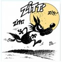 Alberto The Wolf-Zitt Zitt!, Original Silver Ready-to-hang Italian Comics Picture in a Retouche Tecnique