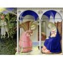 L'Annunciazione-Beato Angelico.Capoletto Classico su Misura