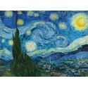 Vincent Van Gogh The Starry Night -Stampa ad Alta Risoluzione su Supporti Diversi con Misure a Scelta