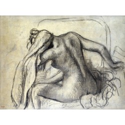 Edgar Degas,La Toilette.Riproduzione ad Altissima Risoluzione Su Misura e su Supporti diversi
