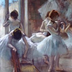 Edgar Degas,Dancers.Quadro con le Famose Ballerine di Degas per Soggiorno.Misure e Supporti a scelta