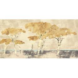 Leonardo Bacci Antibes - Quadro Astratto stilizzato dai colori vivaci, Stampa Fine Art su Tela Canvas