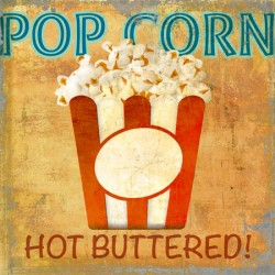Pop Corn,Skip Teller.Amazing Custom Picture for Kitchens, Breakfast or Dining Room