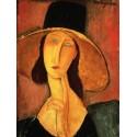 Amedeo Modigliani,Portrait de Jeanne Hébuterne.Riproduzione in Alta Risoluzione Su Misura e su Supporti diversi