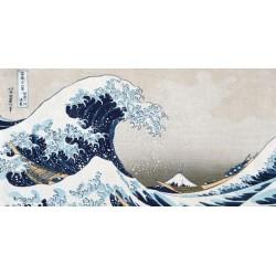"""Hokusai """"La Grande Onda"""".Riproduzione Originale per Soggiorno o Camera con possibilità di Ritocco"""