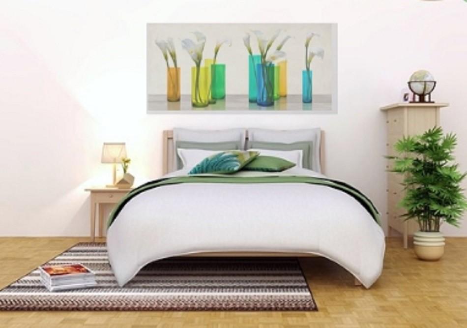 Quadro Astratto Moderno per camera da letto